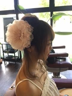 熊本県玉名市にある美容室SRED(スレッド)浴衣セット☆